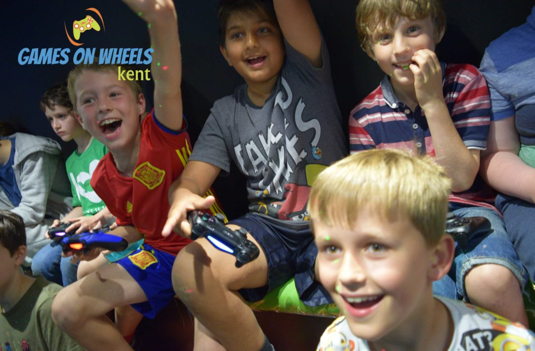 GAMES ON WHEELS CHILDRENS PARTY KENT